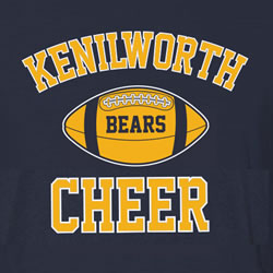 Kenilworth Bears Cheer Spiritwear Sale