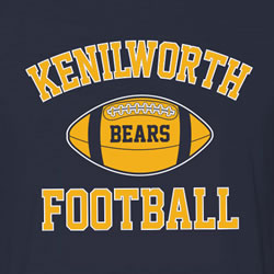 Kenilworth Bears Football Spiritwear Sale