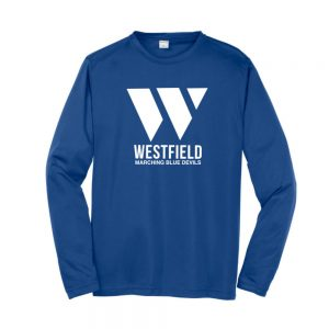 Westfield Marching Band Wicking Long Sleeve Tee