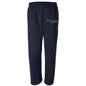 PFO Open Bottom Sweatpants – Navy