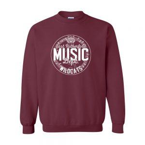 E. Rutherford Music Dept Crewneck Sweatshirt