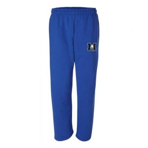 Metuchen Wrestling Open Bottom Sweatpants