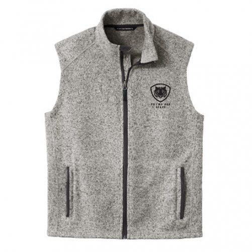 Grey Heather Vest