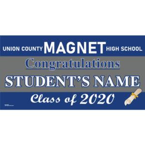 UCVTS Magnet High School Graduation 2020 Lawn Sign