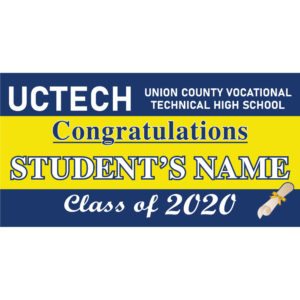 Union County Vocational-Technical High School 2020 Lawn Sign
