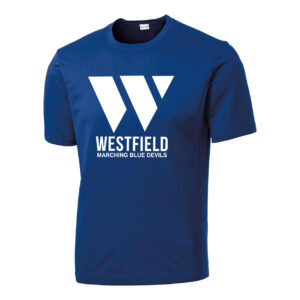 Westfield Marching Band Wicking Short Sleeve Tee