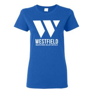 Westfield Marching Band Ladies Short Sleeve Tee