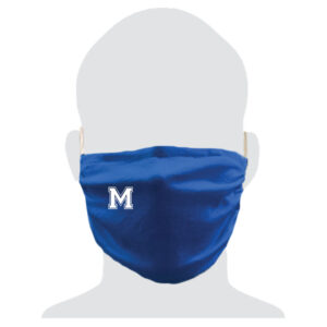 """Middlesex Booster Club """"M"""" Mask"""