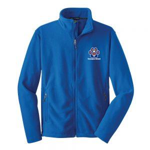 Tamaques School Royal Adult Fleece Jacket