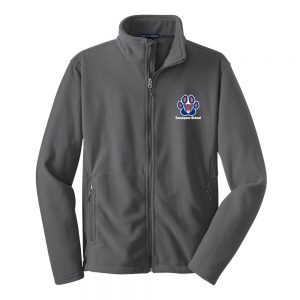 Tamaques School Iron Grey Adult Fleece Jacket