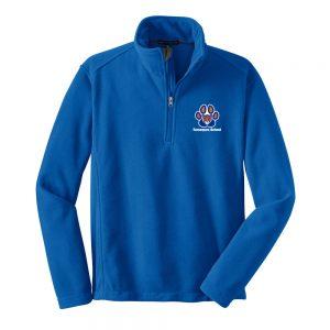 Tamaques School Royal 1/4-Zip Adult Fleece