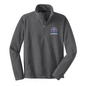 Tamaques School Iron Grey Adult 1/4-Zip Fleece