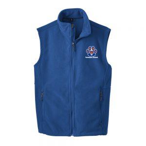 Tamaques School Royal Adult Fleece Vest