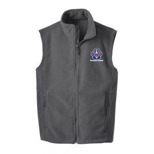 Tamaques School Iron Grey Adult Fleece Vest