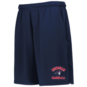 Mendham Baseball Wicking Shorts w/ Pockets