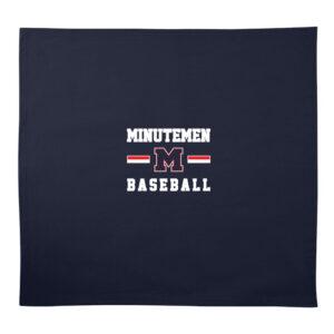 Mendham Baseball 50×60 Sweatshirt Blanket