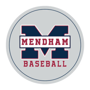 Mendham Baseball Car Magnet