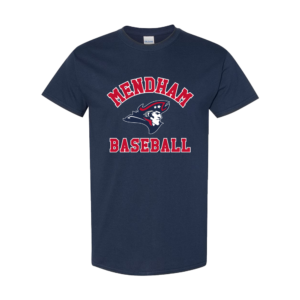 Mendham Baseball Short Sleeve Tee – Navy
