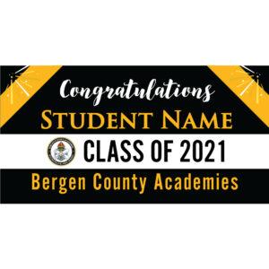 Bergen County Academies Graduation 2021 Lawn Sign