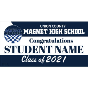 UCVTS Magnet High School Graduation 2021 Lawn Sign