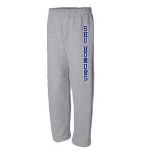 SHU Honors Open Bottom Sweatpants