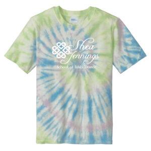 Shea Jennings Watercolor Spiral Tie Dye Tee